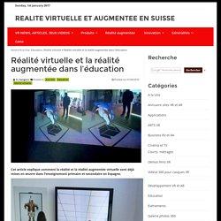 Réalité virtuelle et la réalité augmentée dans l'éducation