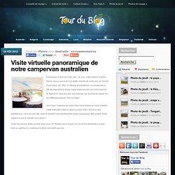 Visite virtuelle panoramique de notre campervan australien - Tour du Blog, récits de voyage
