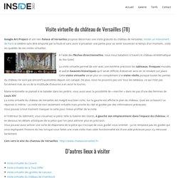 Visite virtuelle du château de Versailles (78) - Inside 360