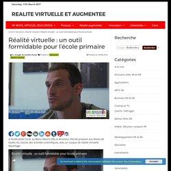Réalité virtuelle : un outil formidable pour l'école primaire