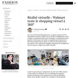 Réalité virtuelle : Walmart teste le shopping virtuel à 360° - Actualité : Innovations (#993609)