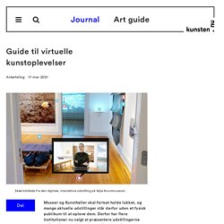 Guide til virtuelle kunstoplevelser