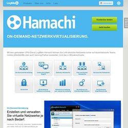 Kostenlose VPN-Software: Virtuelle Netzwerke mit LogMeIn Hamachi²
