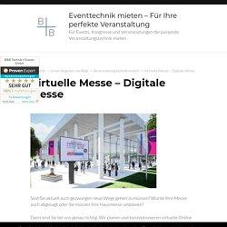 Virtuelle Messe - Digitale Messe - Digitale Messe