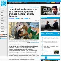La réalité virtuelle au secours de la neurochirurgie : une première mondiale au CHU d'Angers