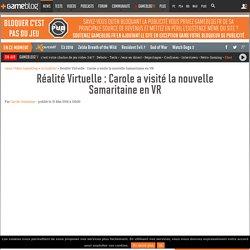 Réalité Virtuelle : Carole a visité la nouvelle Samaritaine en VR