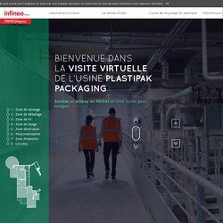 La visite virtuelle - L'usine de recyclage de plastique PET - Infinéo