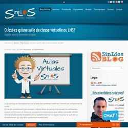 Qu'est-ce qu'une salle de classe virtuelle ou LMS? - SinLios Digital Solutions. Toile, vidéo, eLearning, logiciels et plus