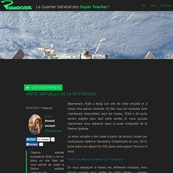 Visite virtuelle de la station ISS - Padagogie