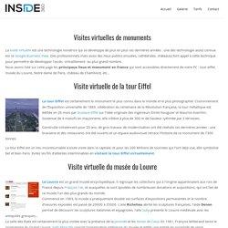 Découvrez les visites virtuelles de monuments Français