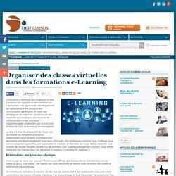 Organiser des classes virtuelles dans les formations e-Learning