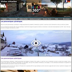 Visites virtuelles interactives - visites virtuelles Flash - Le panorama 360, une immersion en haute définition-visites virtuelles 360°- dosta360
