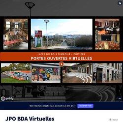 JPO BDA Virtuelles by Lionel PAPON - Référent Jeunesse on Genially