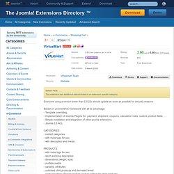 Extensions Directory - VirtueMart