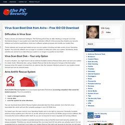 Virus Scan Boot Disk from Avira – Free ISO CD Download