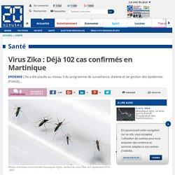 Virus Zika : Déjà 102 cas confirmés en Martinique