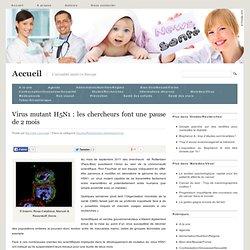 Virus mutant H5N1 : les chercheurs font une pause de 2 mois