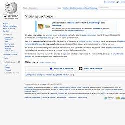 Virus neurotrope