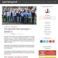 Vis mon Job chez Jamespot – Saison 2