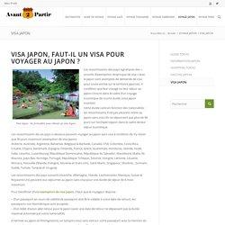 Visa Japon, les formalités pour obtenir un visa Japon