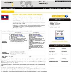 Visa Laos - Visa-en-ligne.com