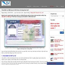 Visa định cư Mỹ là gì và thời hạn sử dụng bao lâu?