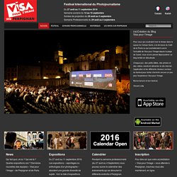 "Photojournalisme ""Visa pour l'Image"""