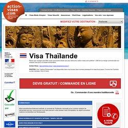 visa Thaïlande - action-visas.com