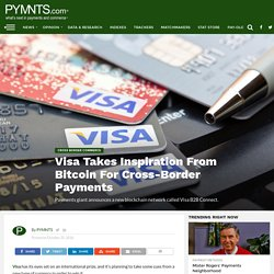 Visa Turns To Bitcoin For B2B Payments
