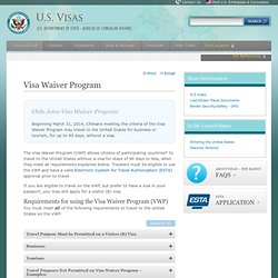 Visa Waiver Program (VWP)