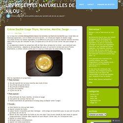 Les recettes naturelles de Nilou