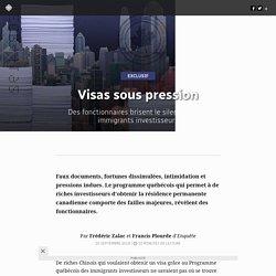 Visas sous pression