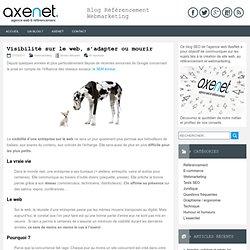 Visibilité sur le web, s'adapter ou mourir