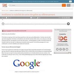 Améliorez la visibilité de votre site grâce au référencement