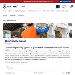 Buy Online High Visibility Jackets For Workers