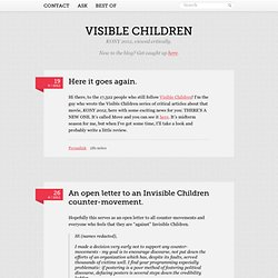 Visible Children - KONY 2012 Criticism