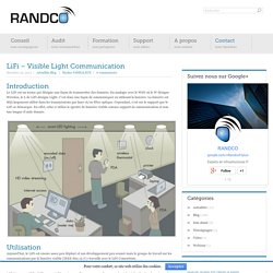 LiFi – Visible Light Communication - Randco