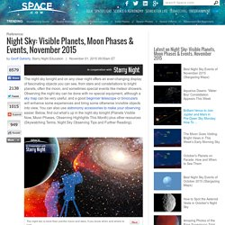 Night Sky: Visible Planets, Moon Phases & Events, May 2014