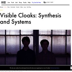 Visible Cloaks: Synthesis and Systems
