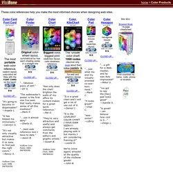 VisiBone Web Design Color References