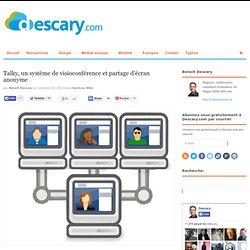 Talky, un système de visioconférence et partage d'écran anonyme