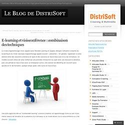 E-learning et visioconférence : combinaison des techniques