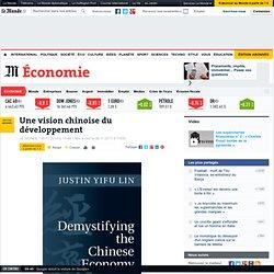 Une vision chinoise du développement