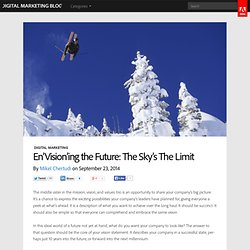 En'Vision'ing the Future: The Sky's The Limit