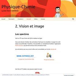 2. Vision et image