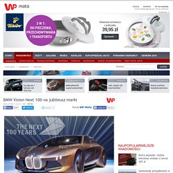 BMW Vision Next 100 na jubileusz marki