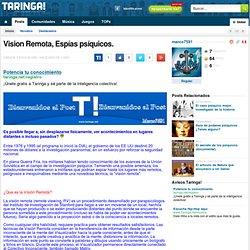 Vision Remota, Espías psíquicos.