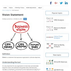 Why is a Vision Statement so Important for Growth?
