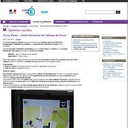 Cluny Vision : visite interactive de l'abbaye de Cluny