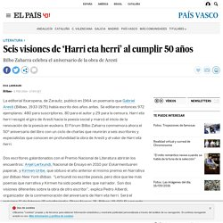 Seis visiones de 'Harri eta herri' al cumplir 50 años